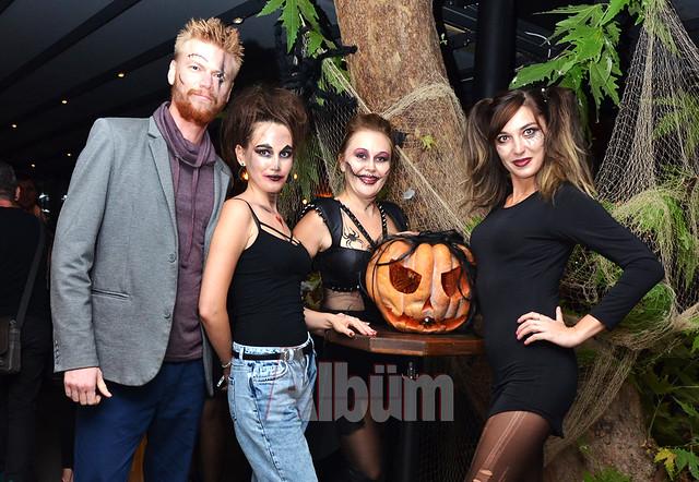 En Vie'de cadılar bayramı eğlencesi