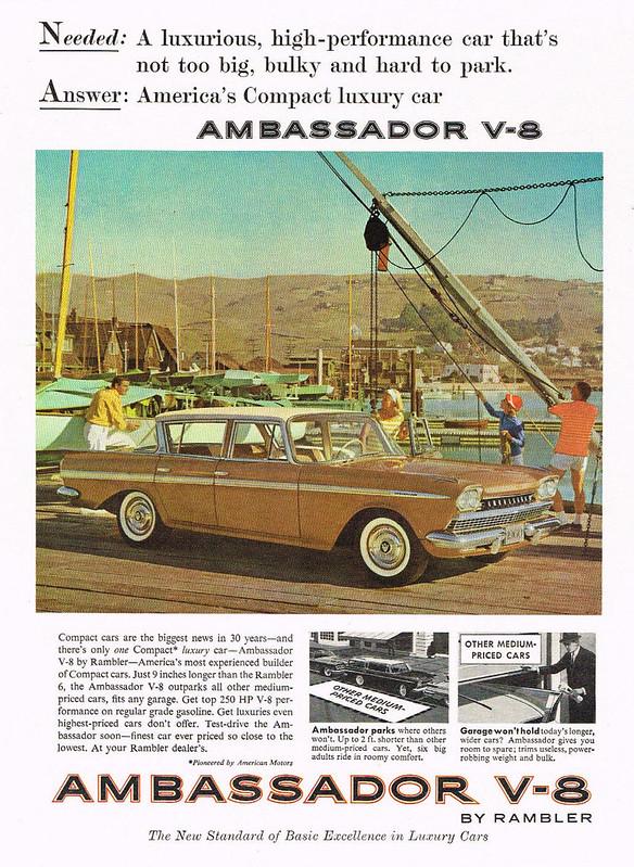 1960 Rambler Ambassador V-8