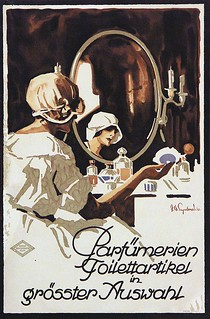 Perfumery toiletries in a large selection (c.1920)