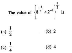 RD Sharma Class 9 Maths Book Questions Chapter 2 Exponents of Real Numbers