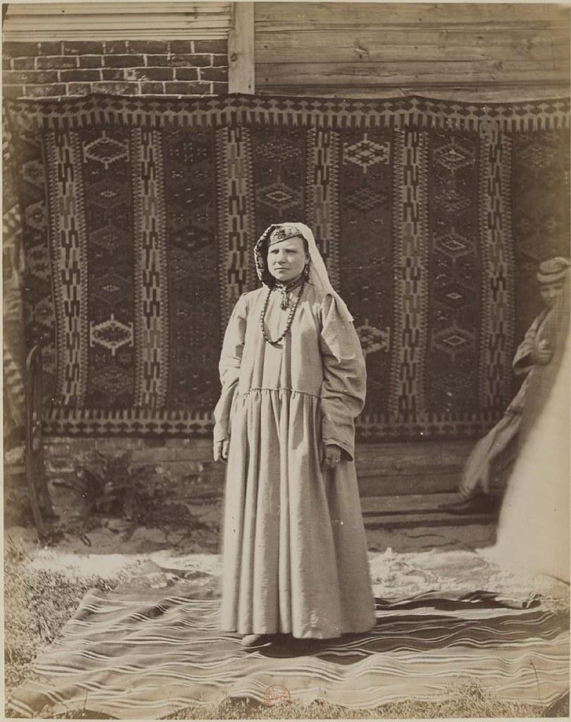 Казанская губерния. Молодая татарка