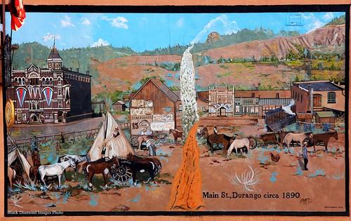 mainstreet durango circa1890 mural colorado usa 1890 mainstreetdurango tommcmurray2004 westernusatrip2018 2018 art canon60d sigma1770 1770