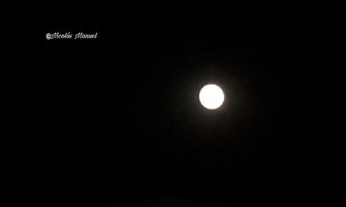 Luna llena 26/9/2018 (fotos móvil) #lunallena #iphonexfotos #luna