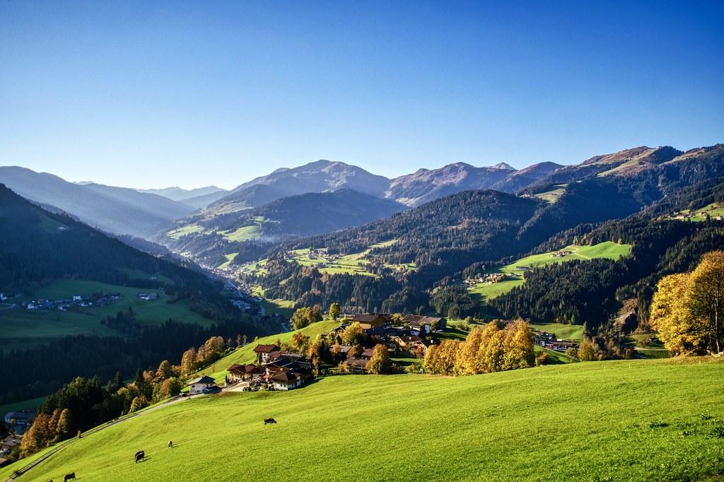 Mhltal in der Wildschnau, sterreich   Tor zur Kundler Klamm