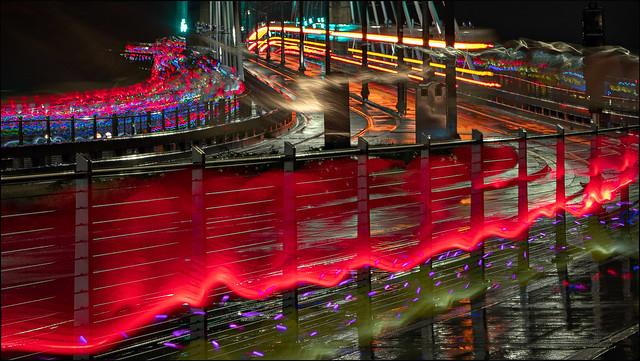 Light the Night on the Tilikum Crossing Bridge
