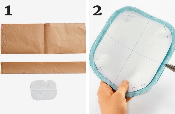 Cosmetic Bag DIY Steps 1 2