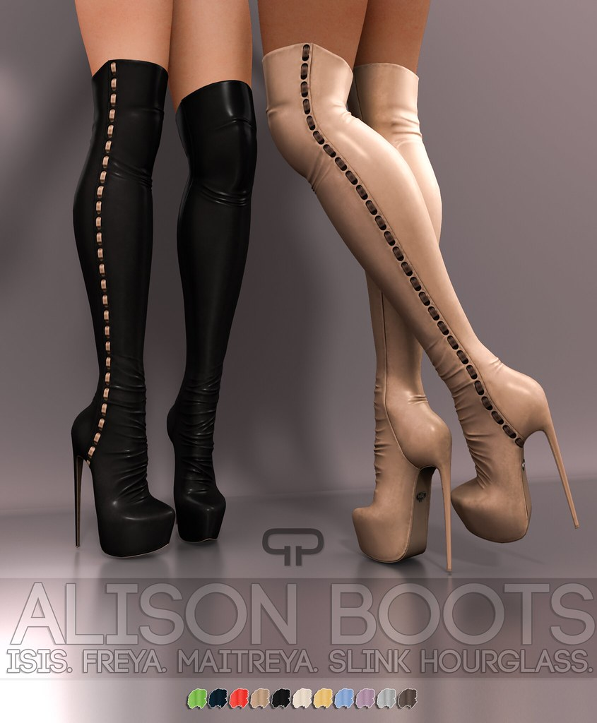 Pure Poison – Alison Boots AD