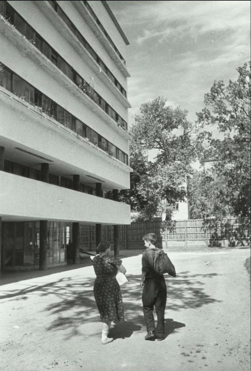 1930-е. Дом-коммуна Наркомфина