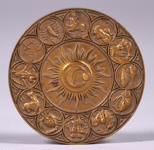 1978 Zodiac Calendar Medal obverse