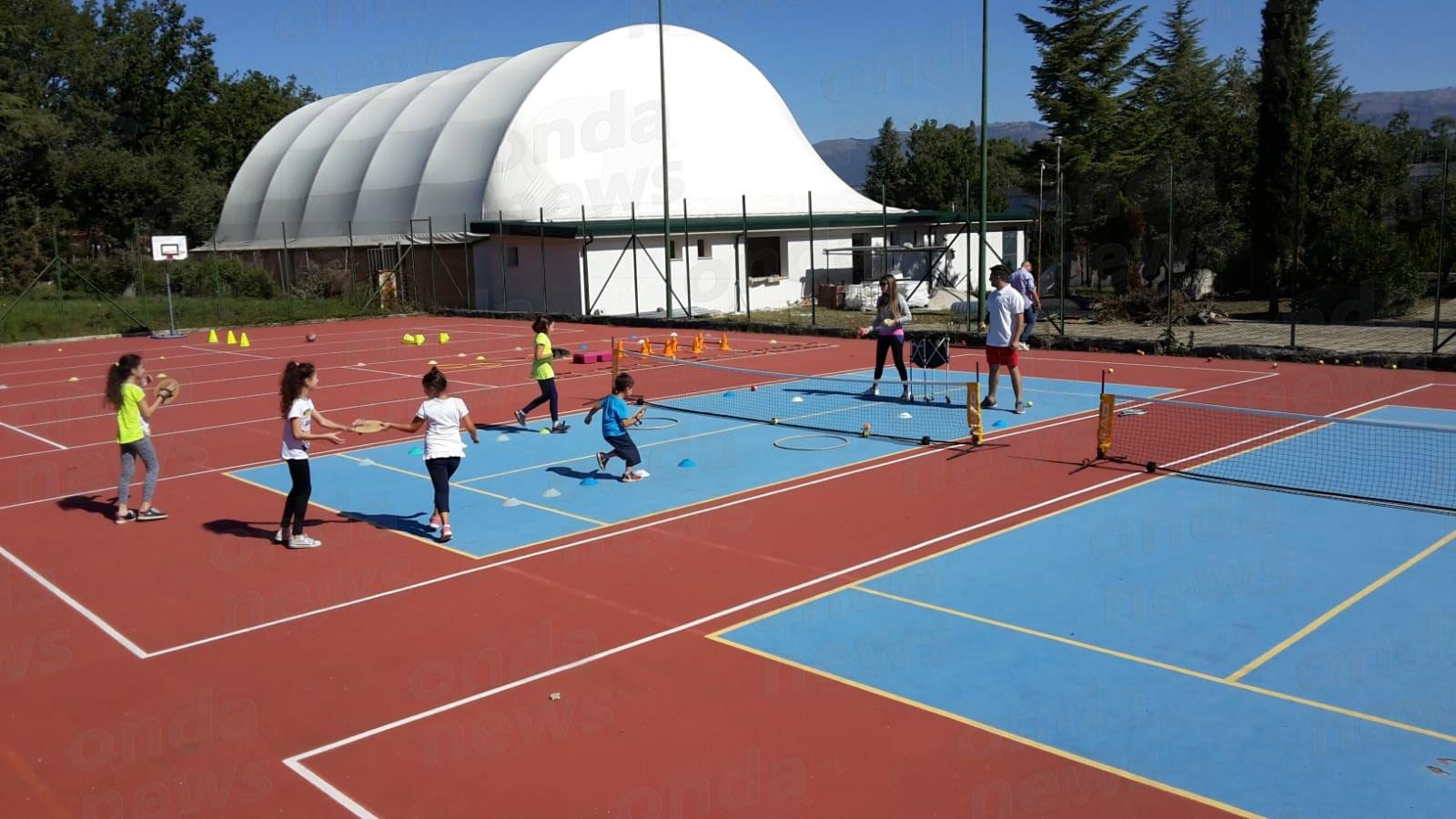 Open Day Metasport 30-09-18 tennis bambini