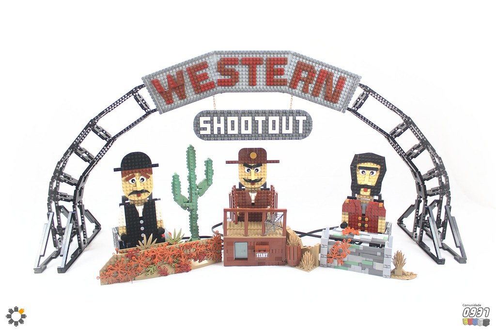 Western Shootout EV3 Arcade Game