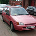 R968 AAY - Toyota Starlet @ Killingworth