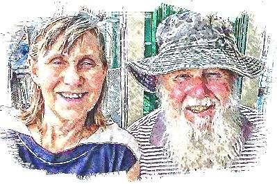 Paul and Jill Weaver watercolour 22 Sept 2018