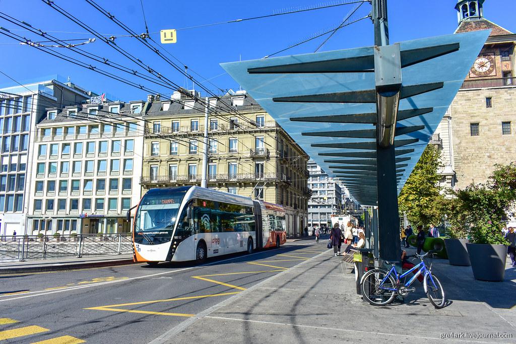 Женева – самый нешвейцарский город Швейцарии архитектура