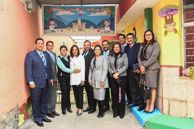 Visita de Delegación del Gobierno de Honduras al Ministerio de Educación