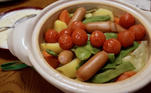 蒸し野菜20181012