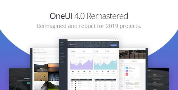 OneUI v4.2.0 - Bootstrap 4 Admin Dashboard Template & Laravel Starter Kit