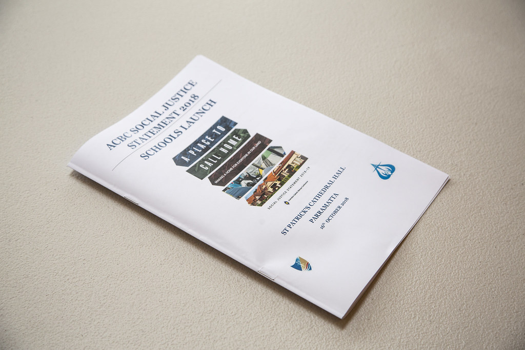 ACBC Social Justice Statement 2018 - Schools Launch