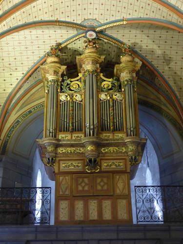 Orgue, Église Notre-Dame...Sarrance