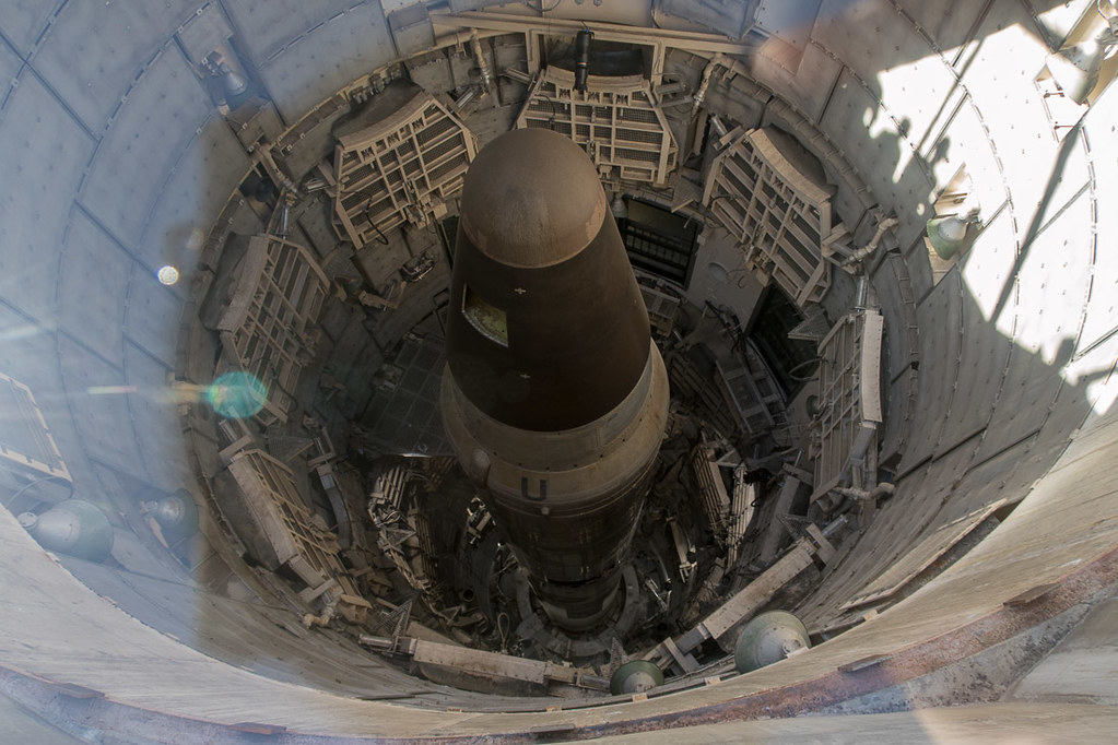 View from top of Titan Missile Museum