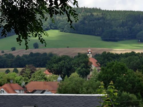 Keule und Kolbe pochen in Sachsen donnernd an an des Schlosses Tor 00658
