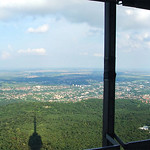 Landscape from a tv-tower