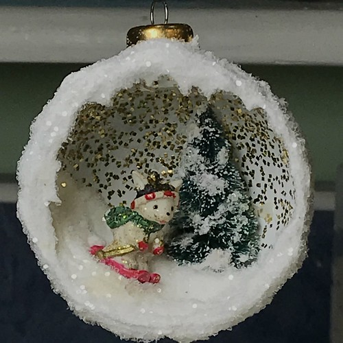 diorama Christmas ornaments