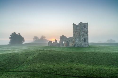 england unitedkingdom gb abandoned knowlton gree mist sunrise nopeople dorset dorsetuk sony ilce7rm2 anthonywhitesphotography