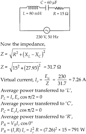NCERT Solutions for Class 12 Physics Chapter 7 Alternating Current 46