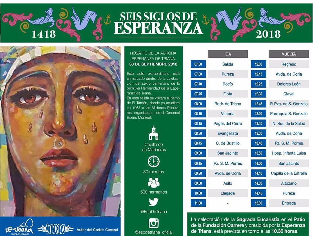 Esperanza Triana itinerario