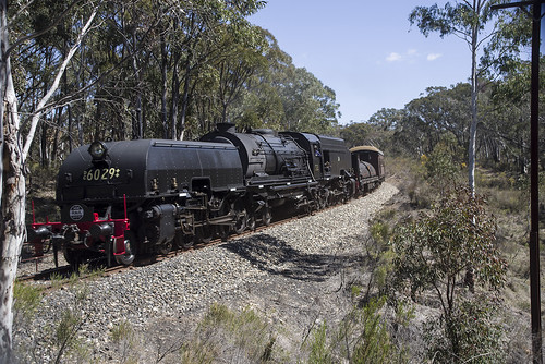 6029, on 6S61, approaching Charbon, Gwabegar Branch, NSW, 29th September, 2018.