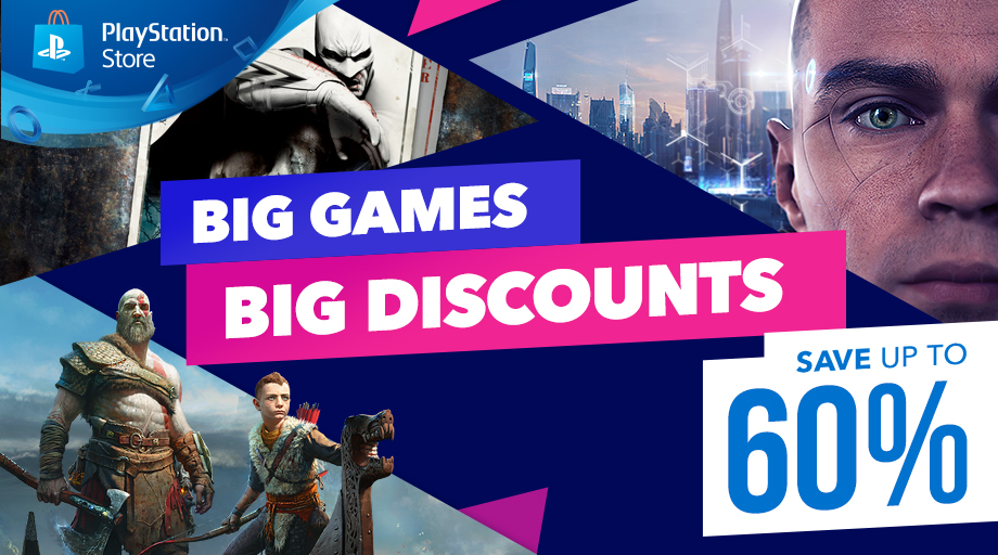 Big Games, Big Discounts Promotion