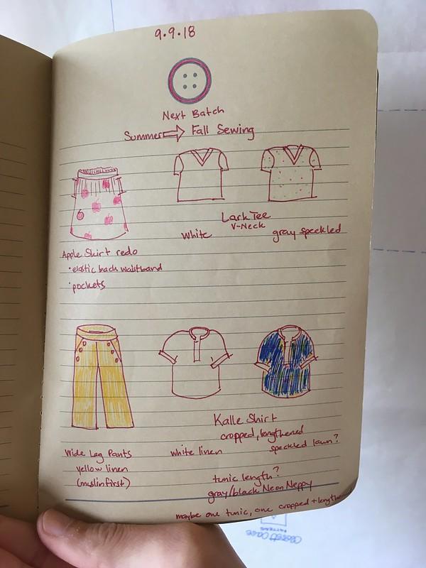 Fall Sewing Inspiration