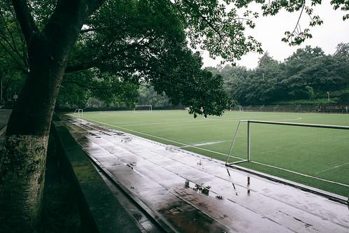 Playground with no one