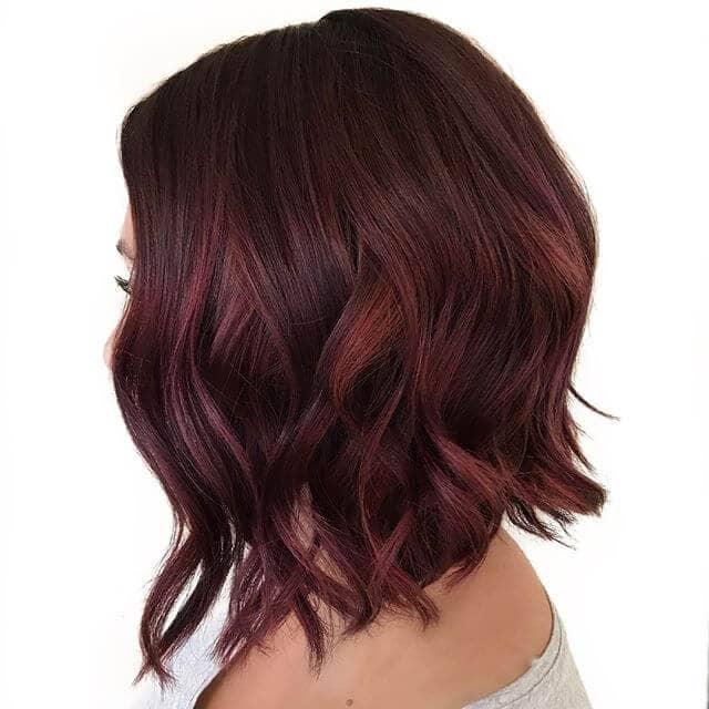 best burgundy hair dye to Rock this Fall 2019 17