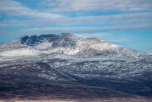 dovre oppland norway no snøhetta autumn mountain