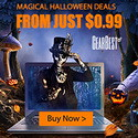 Gearbest Magical Halloween Deals from just $0.99 promotion