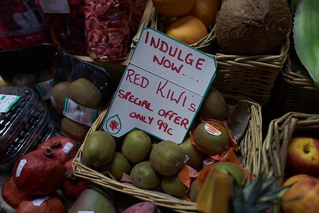 indulge now... red kiwis