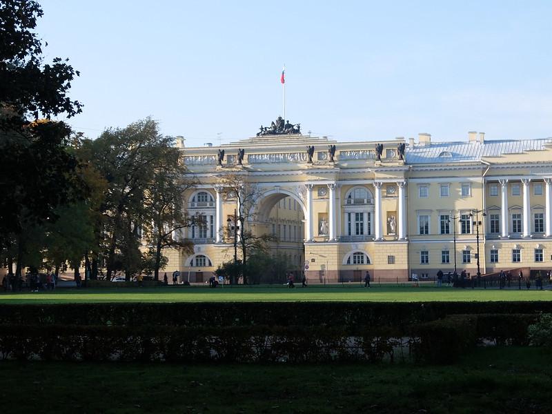 Санкт-Петербург - Здание Сената и Синода