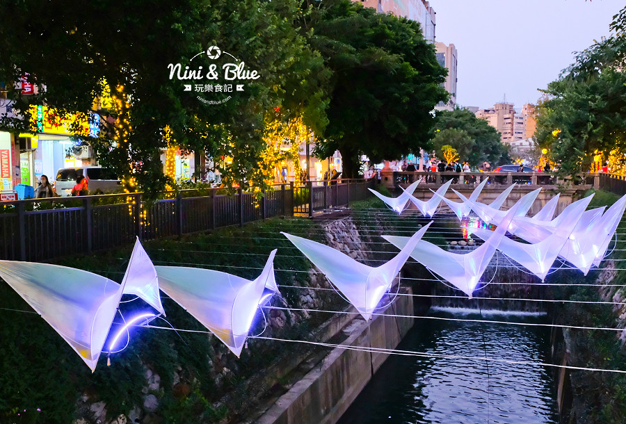 柳川水岸 2018 新盛綠川 燈節 IG打卡09