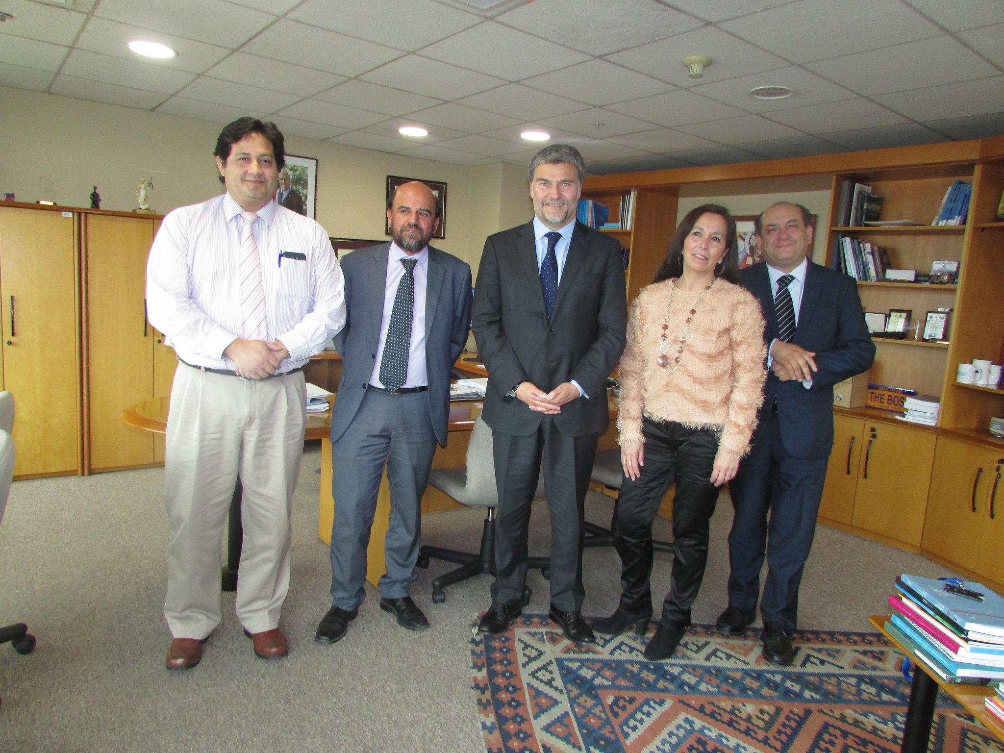 Nuevo Directorio AFUDEP se reúne con Defensor Nacional – 13 Octubre 2018