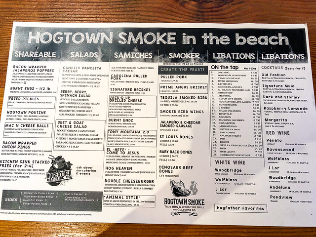 Restaurant Review: Hogtown Smoke