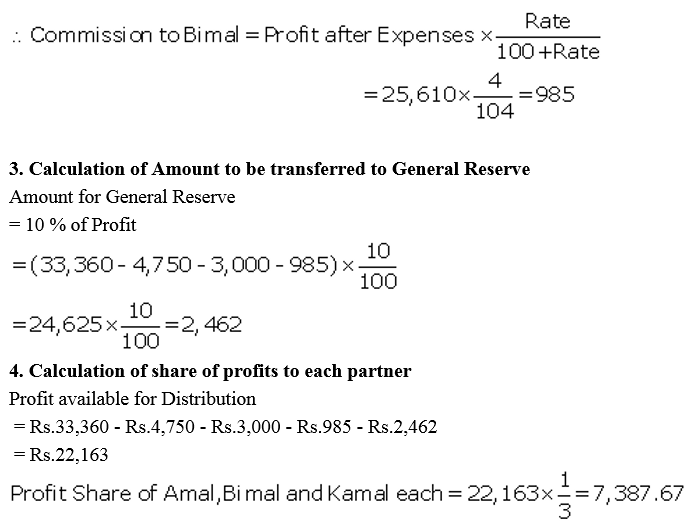 TS Grewal Accountancy Class 12 Solutions Chapter 1 Accounting for Partnership Firms - Fundamentals Q53.2