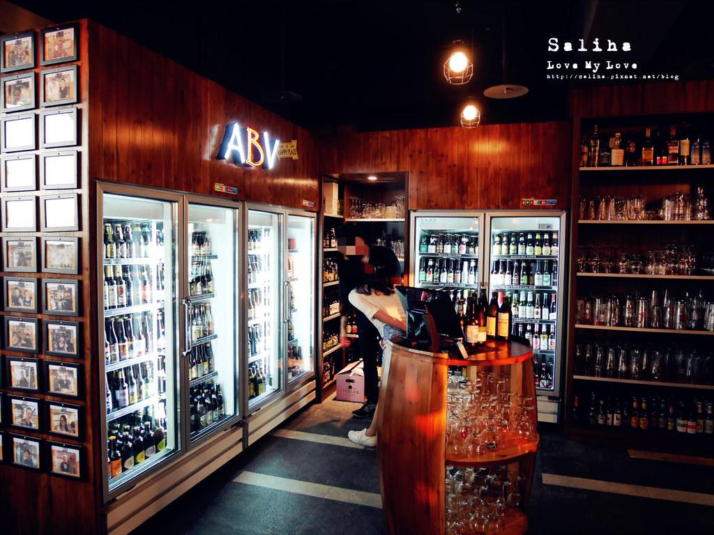 板橋府中站附近氣氛好浪漫約會餐廳美食推薦ABV閣樓餐酒館義大利麵沙拉啤酒 (9)