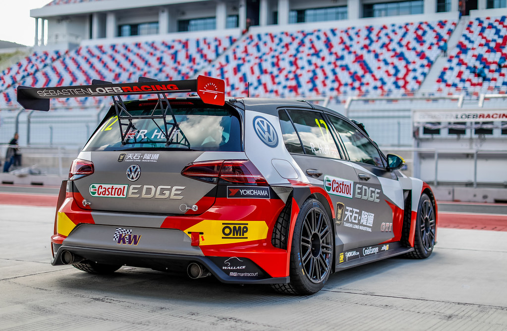 12 HUFF Rob, (gbr), Volkswagen Golf GTI TCR team Sebastien Loeb Racing, action during the 2018 FIA WTCR World Touring Car cup of China, at Ningbo  from September 28 to 30 - Photo Marc de Mattia / DPPI
