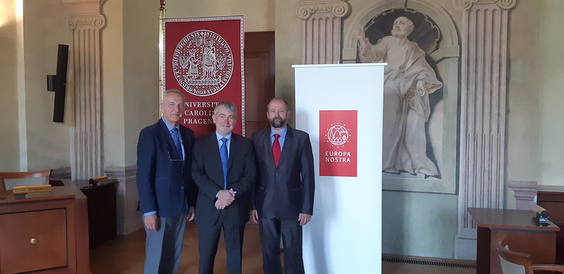 Awards 2018 Ceremony for St. Wenceslas Rotunda, Prague