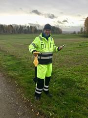 Første test av vLoc3-Pro i Norge med Geomatikk.