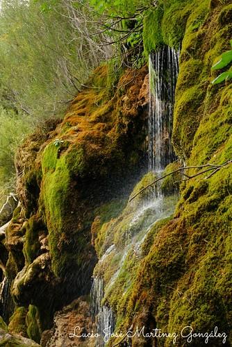 Nacimiento del Río Cuervo. Cuenca.