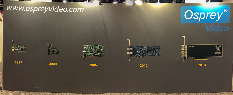 Osprey booth - 21 years