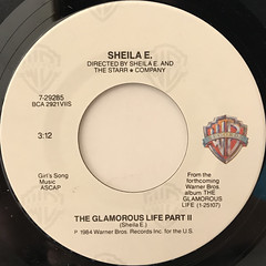SHEILA E.:THE GLAMOROUS LIFE(LABEL SIDE-B)
